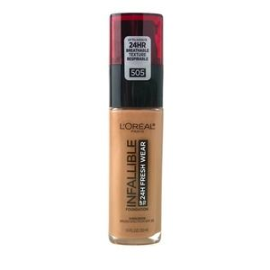 L'Oreal Infallible Foundation 505 Toffee